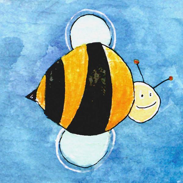 Big Bee Painting Esteban Studio