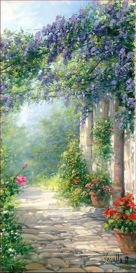 Featured Bloomed Courtyrad Antonietta Varallo L