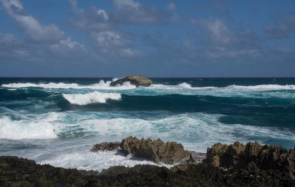 Boiling The Ocean At Laie Point North Shore Oahu