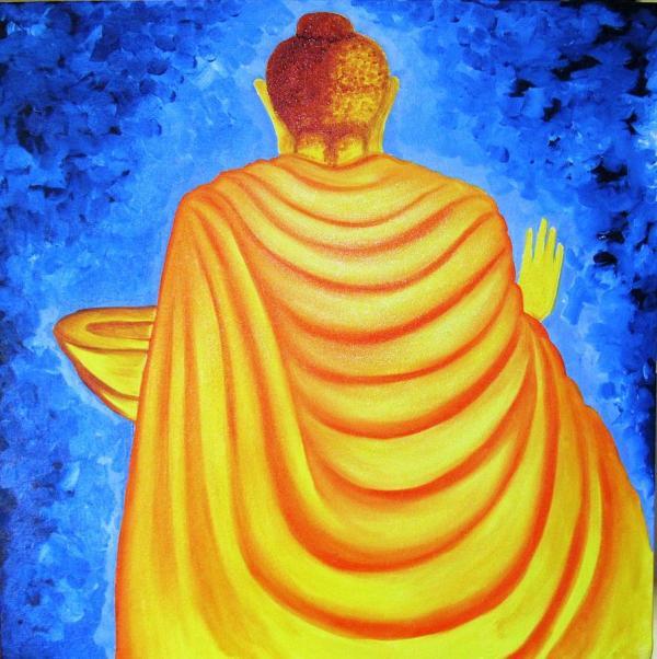 Buddha Enlightened Abhishek Das