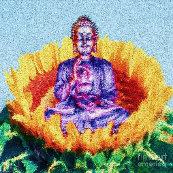 Buddha Sunflower Tarik Eltawil