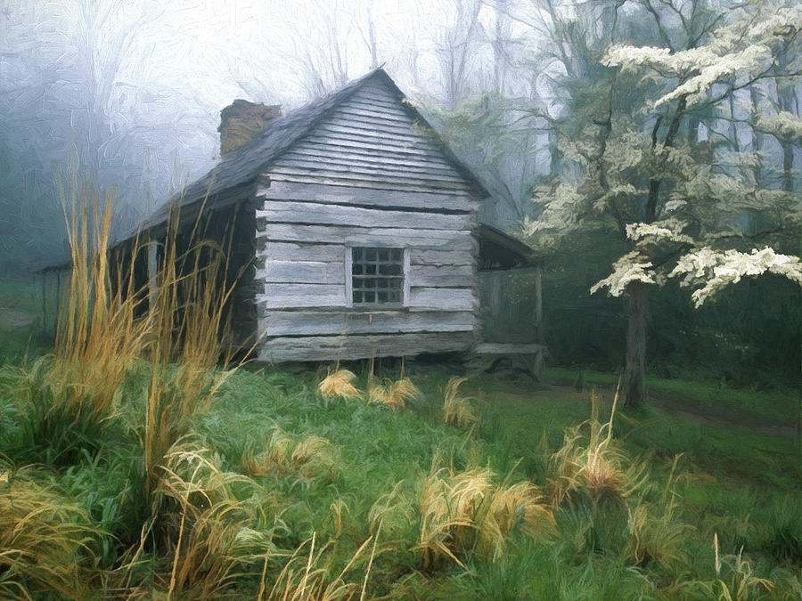 Great Smoky Mountains Fall Iphone Wallpaper Cabin Fever On Rainy Spring Day In The Great Smoky