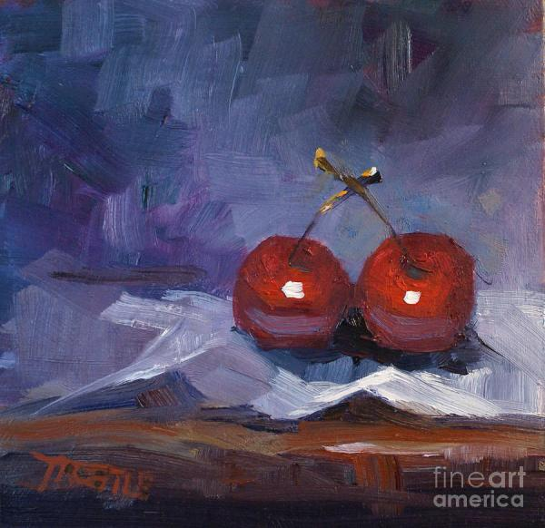 Cherries Fruit Art Paintings