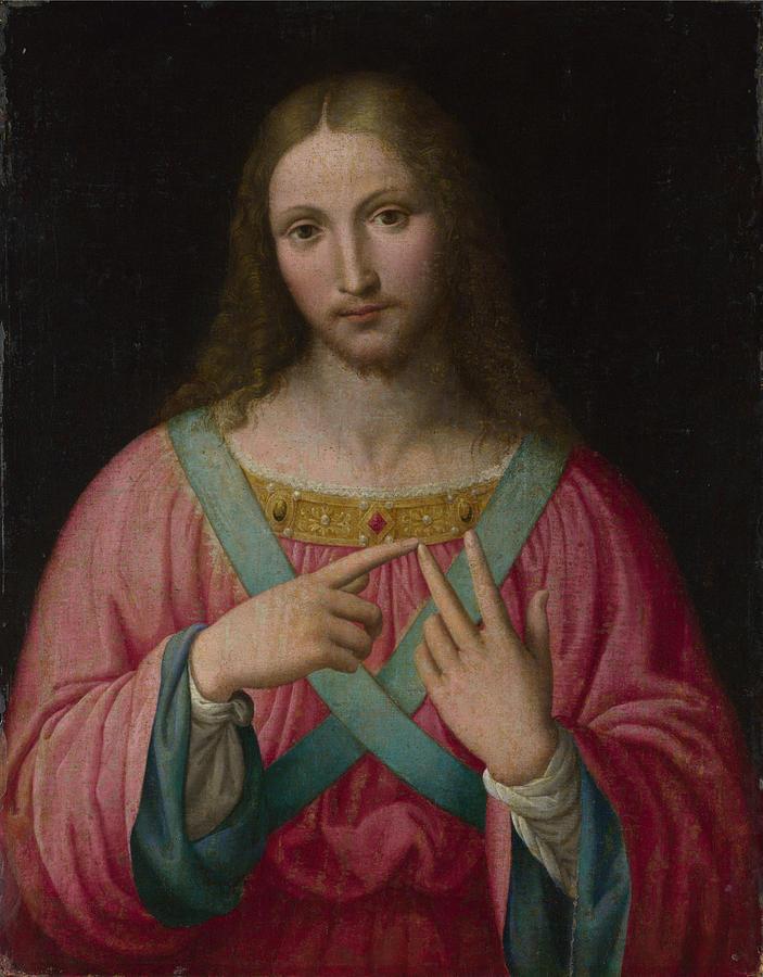 Christ Painting by Raphael Sanzio