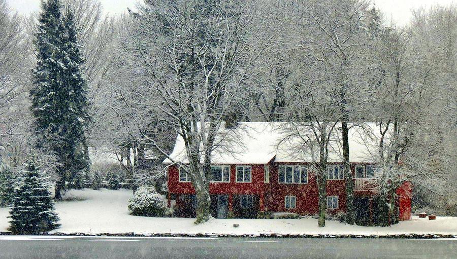 christmas scenery by art