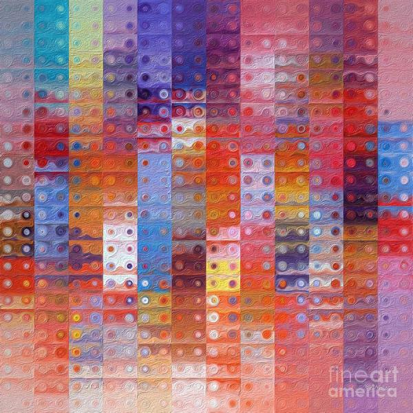 Circles And Squares 33. Modern Abstract Fine Art Painting
