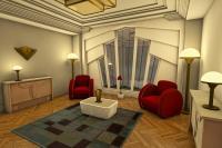 Living Room Ideas Art Deco