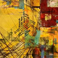 Contemporary Islamic Art 77 Painting by Corporate Art Task ...