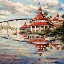 Coronado Centennial Painting Glenn Mcnary