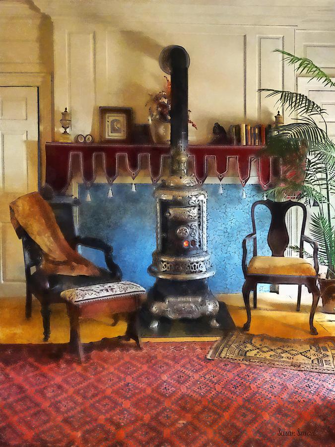 toddler beach chairs club chair covers australia cozy victorian parlor photograph by susan savad