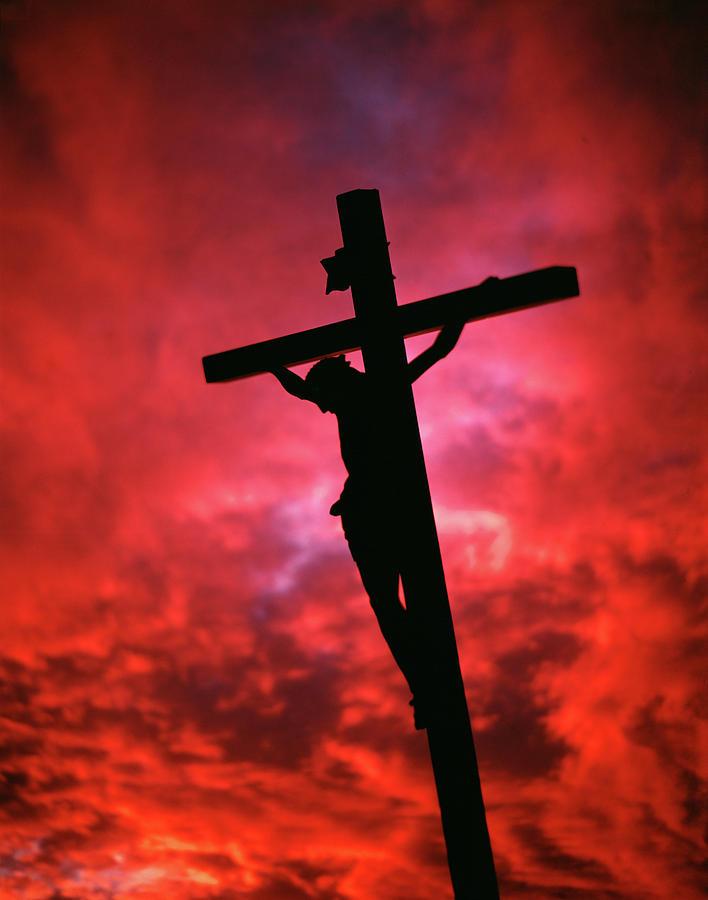 crucifixion jesus christ on