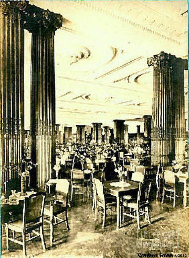 Crystal Tearoom In John Wanamakers In Philadelphia Pa