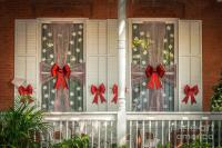 Decorated Christmas Windows Key West - Hdr Style ...