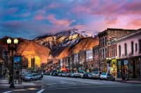 Downtown Ogden Utah Photograph by Michael Ash