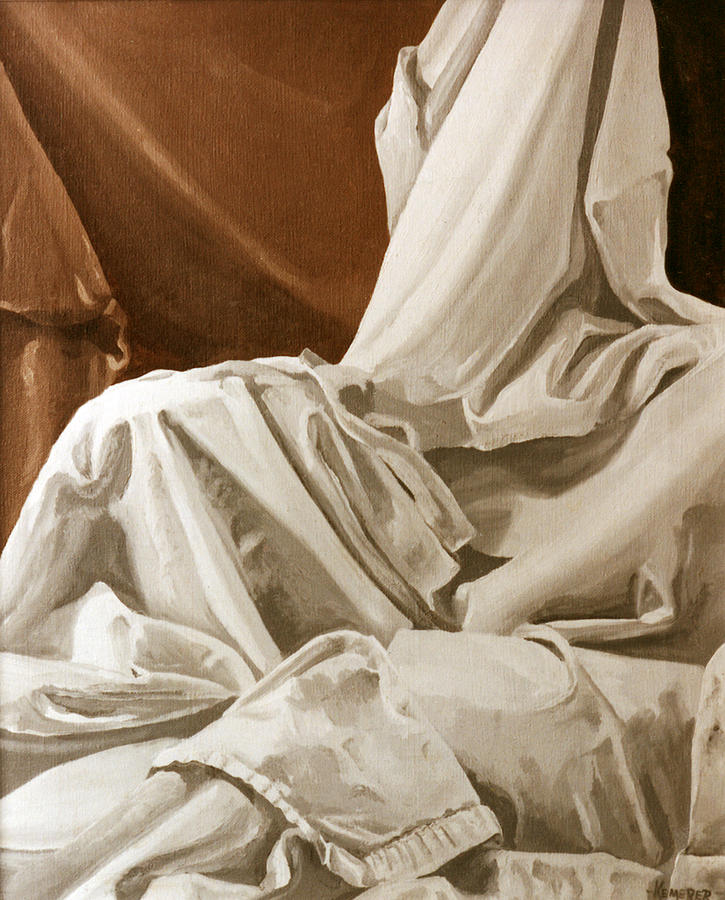 Drapery Painting : drapery, painting, Drapery, Still, Study, Painting, Roberts