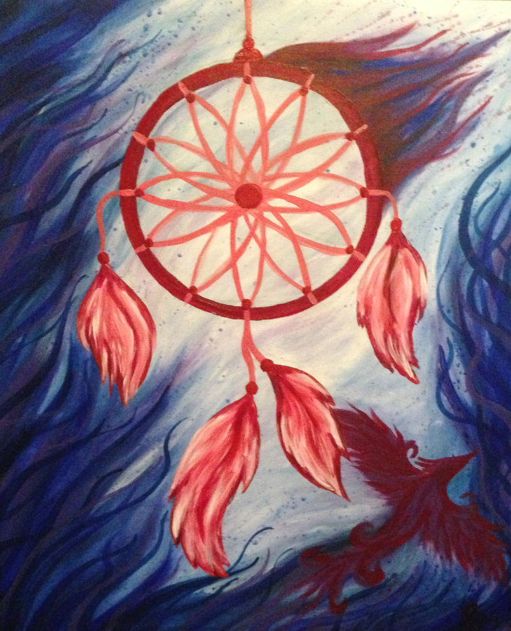 Dream Catcher Acrylic Painting : dream, catcher, acrylic, painting, Dream, Catcher, Painting, Jessica, Bassett