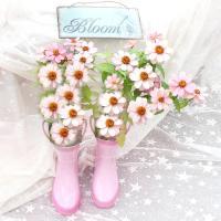 Dreamy Cottage Garden Art - Shabby Chic Pink Flowers ...