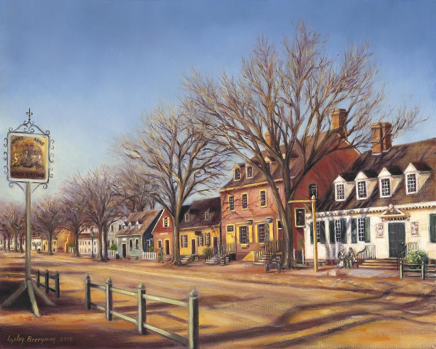 Duke Of Gloucester Street From Kings Arms Tavern Painting