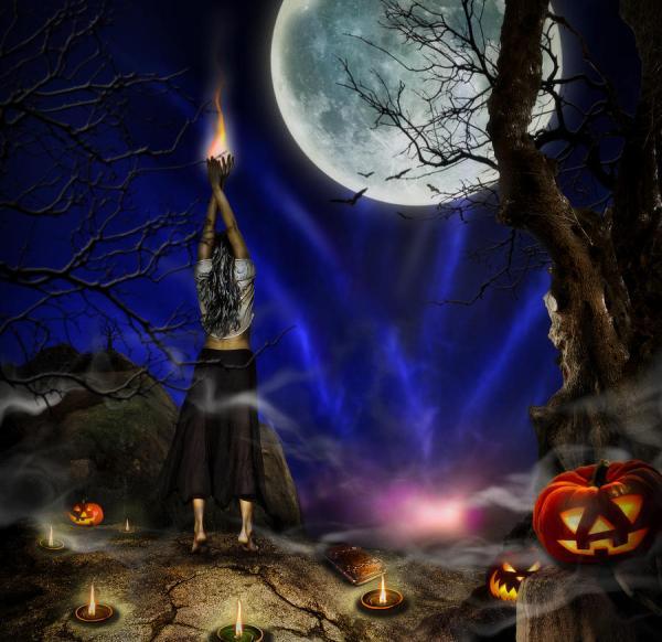 Halloween Digital Art