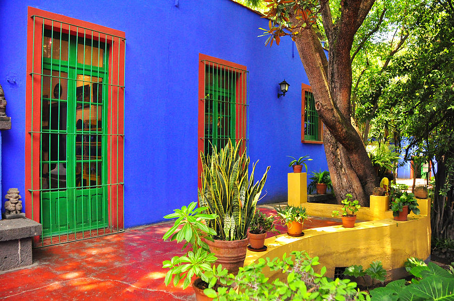 Kahlo House Frida Mexico City