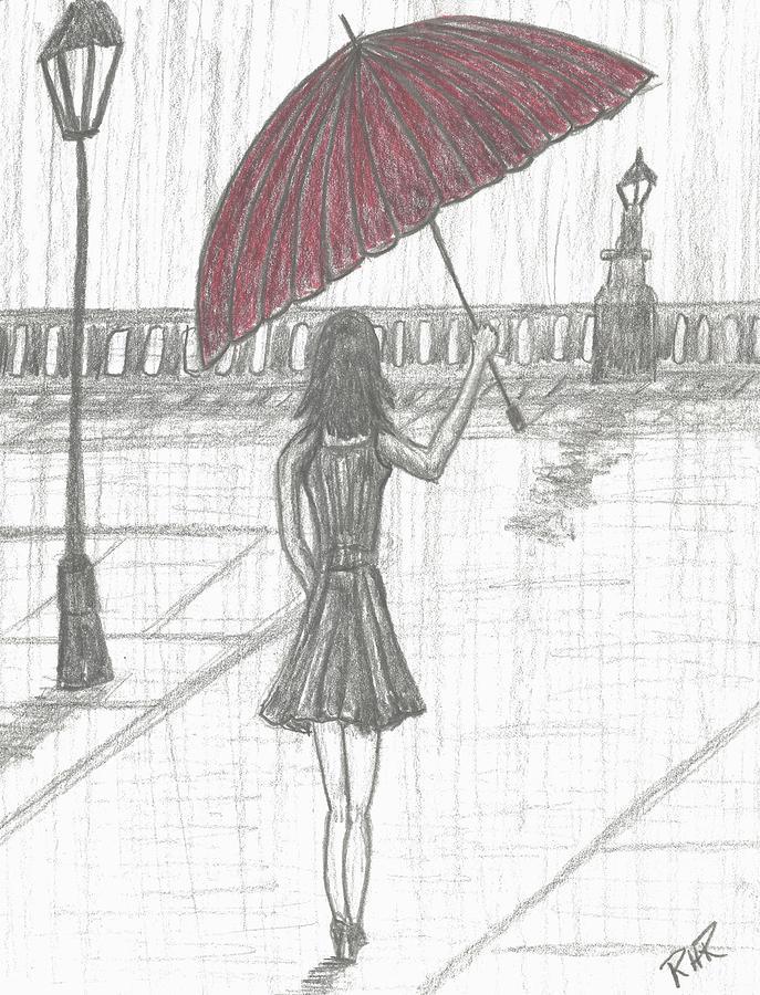 Rain Drawing : drawing, Drawing, Ratzlaff