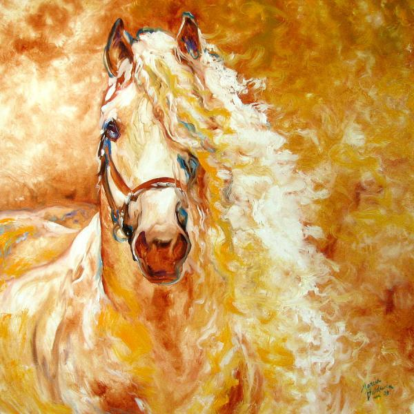Paintings by Marcia Baldwin Horse