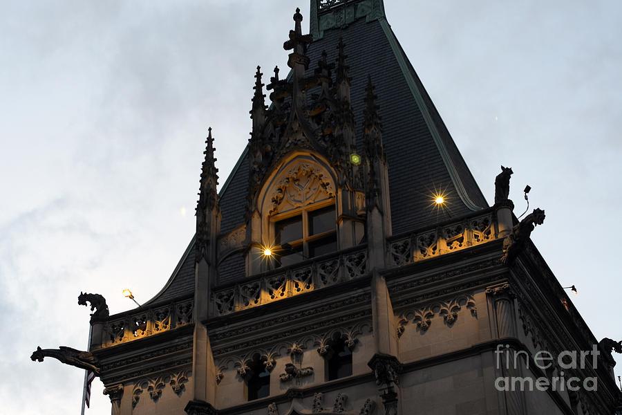 Gothic Biltmore Estate Mansion Gargoyles Biltmore Estate
