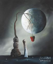 Gothic Fantasy Art by Shawna Erback So Tempting Painting by Fairy and Fairytale