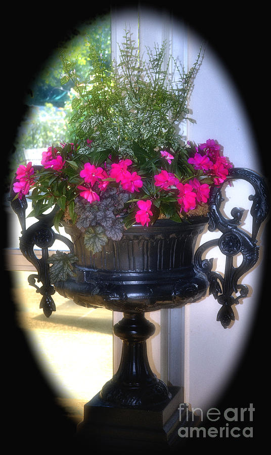 gothic flower container