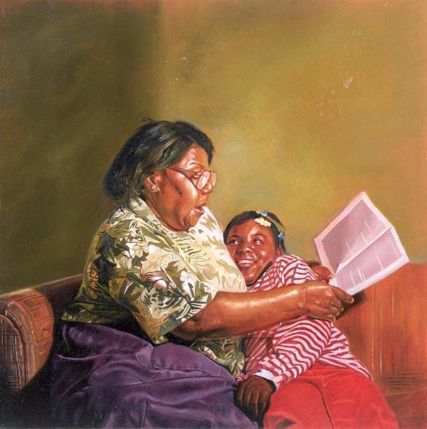Grandmas Love Painting Colin Bootman