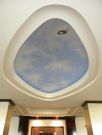 Holiday Inn Express Ceiling Dome Mural Painting by Frank ...