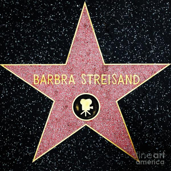 Hollywood Walk of Fame Barbra Streisand