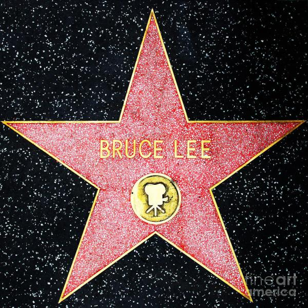 Bruce Lee Star Hollywood Walk of Fame