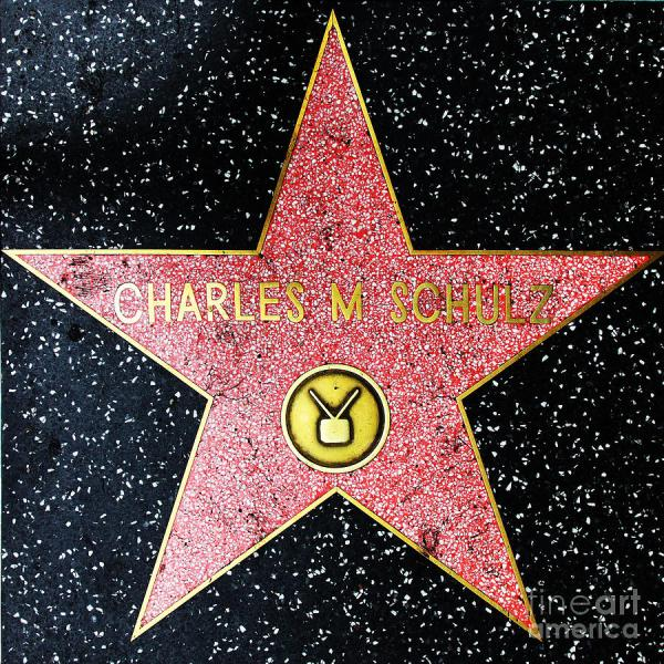 Hollywood Walk Of Fame Charles Schulz 5d28947 Wingsdomain Art