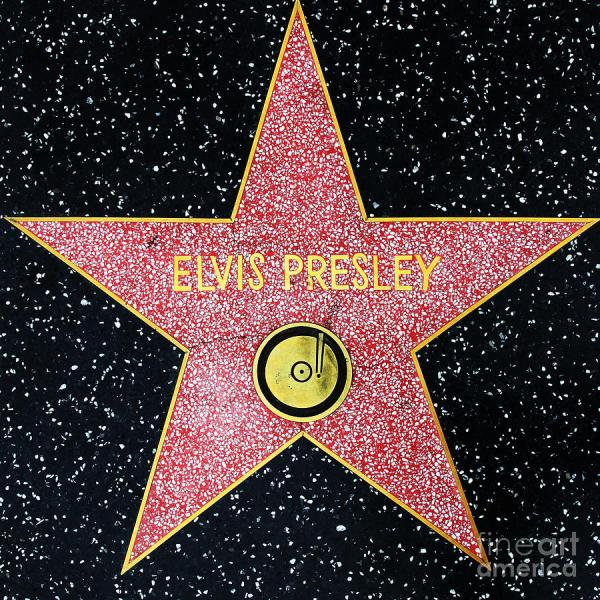 Elvis Presley Star Hollywood Walk of Fame