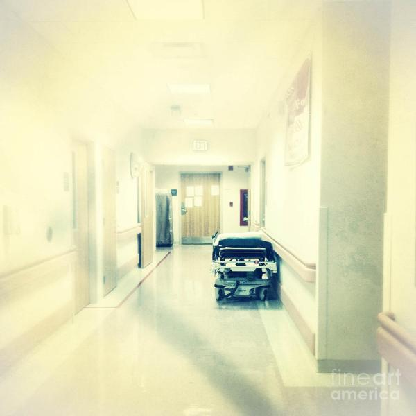 Hospital Hallway Digital Art Amy Cicconi