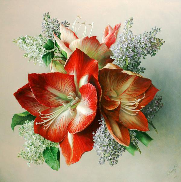 Pieter Wagemans Paintings Flower