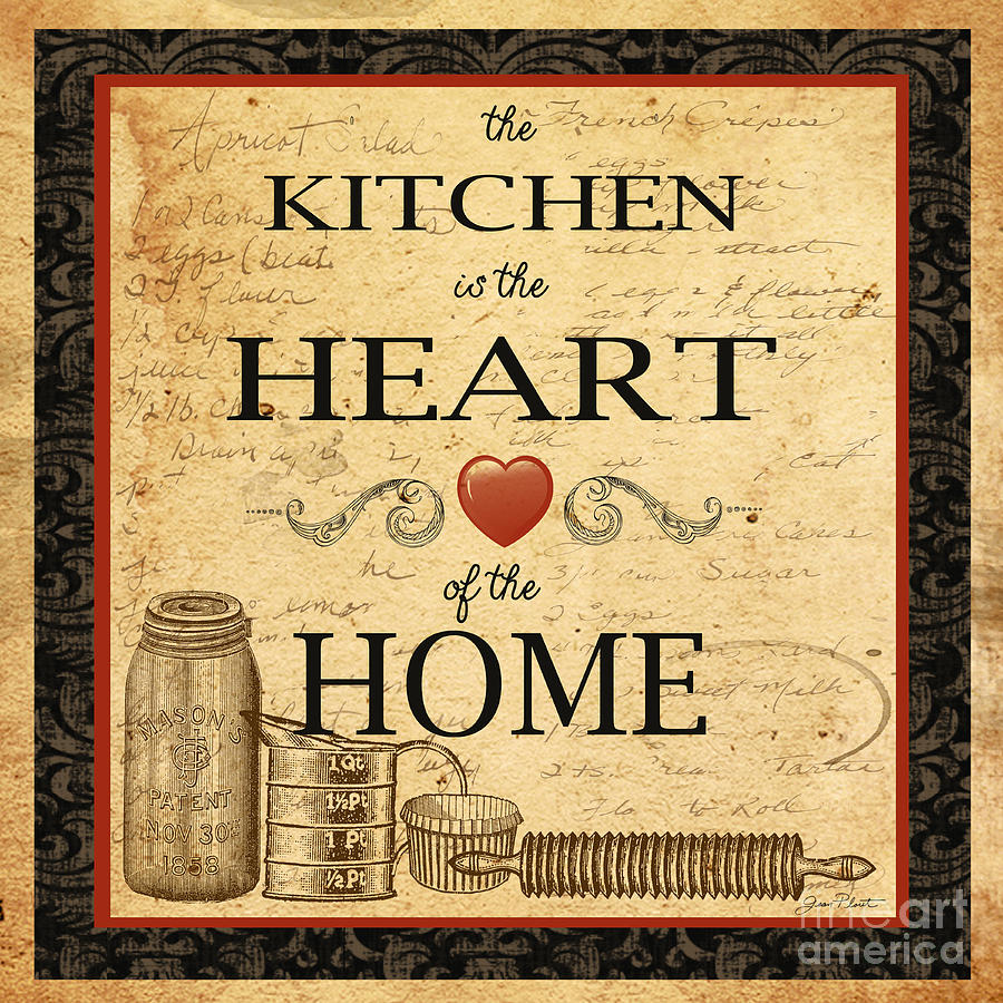 vintage posters for kitchen aid dishwasher is the heart painting by jean plout