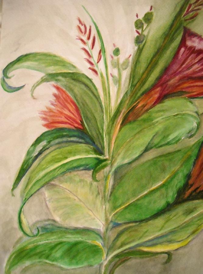 Foliage Painting : foliage, painting, Leaves, Hiding, Flowers, Painting, Marian, Hebert