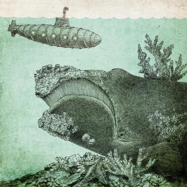Leviathan Drawing Eric Fan