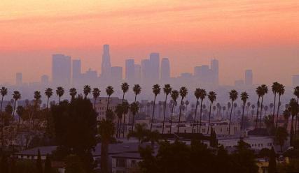 Image result for Los Angeles skyline