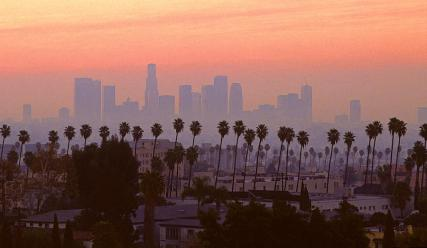 Image result for Los Angeles skyline