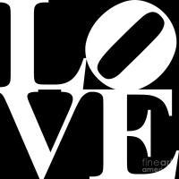 Love 20130707 White Black Digital Art by Wingsdomain Art ...