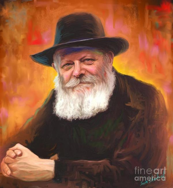 Lubavitcher Rebbe Painting