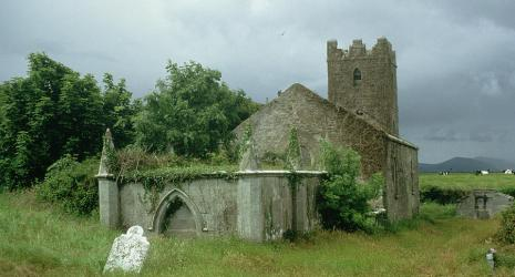 medieval church unknown churchyard painting gothic paintings 29th uploaded january which
