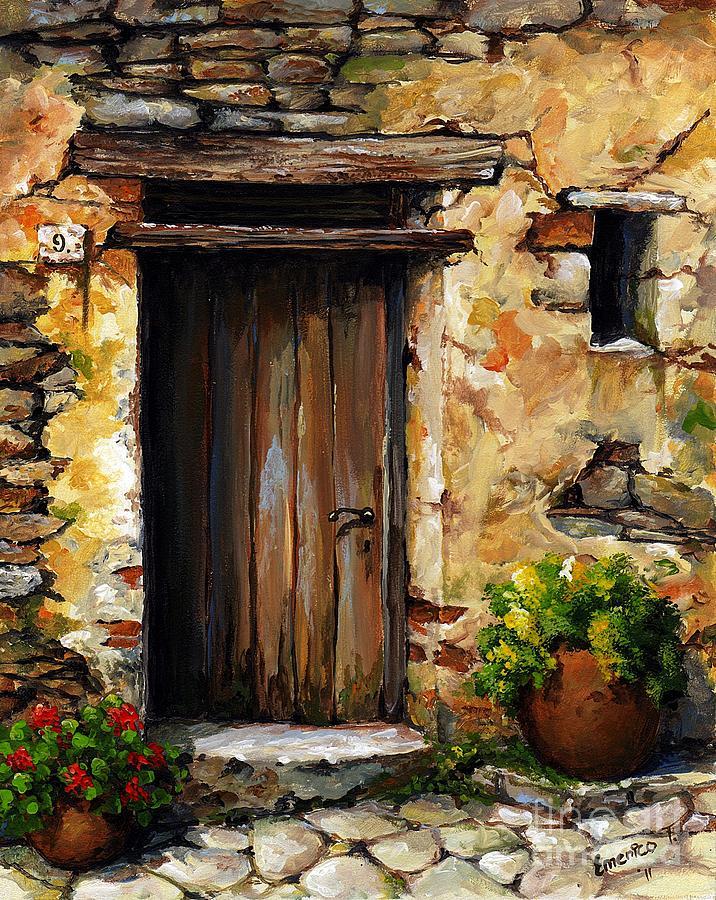 Mediterranean Art Painting