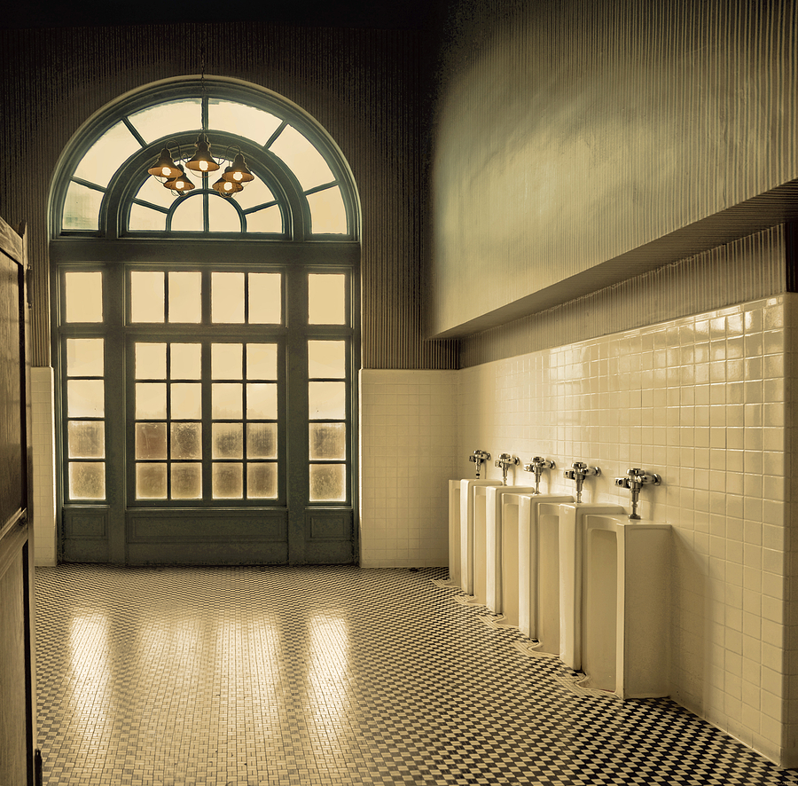 Mens Room Photograph by Steven Michael