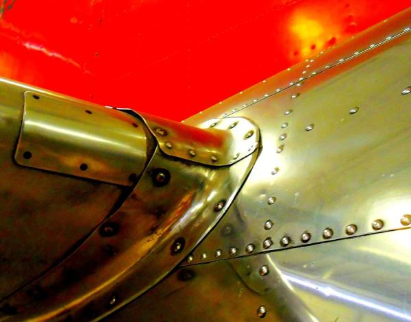 Metal Rivets Photograph by Randall Weidner