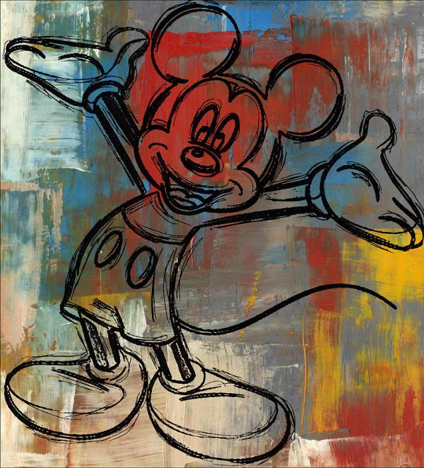 Mickey Mouse Digital Art