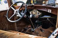 Model A Roadster Interior Photograph by Robert Culver